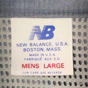 New Balance Jackets & Coats - New Balance U.S.A. Men's Windbreaker Jacket